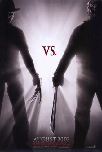 Freddy contre Jason Affiche originale