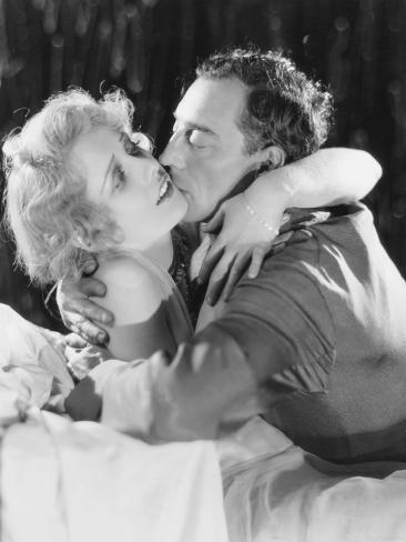 Free and Easy, Anita Page, Buster Keaton, 1930 Photographie