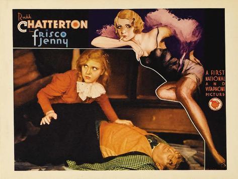 Frisco Jenny, 1933 Reproduction d'art