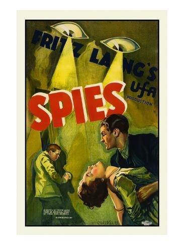 Spies Reproduction d'art