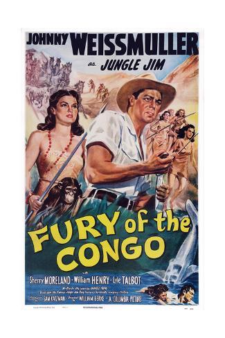 Fury of the Congo Reproduction procédé giclée