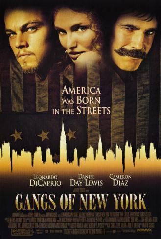 Gangs of New York Affiche originale
