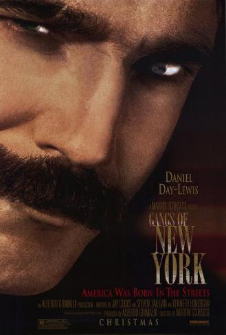 Gangs of New York Affiche originale