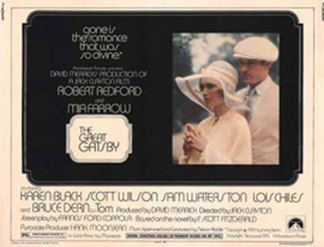 Gatsby le magnifique Affiche originale