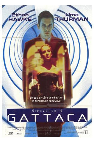 Gattaca, French Movie Poster, 1997 Autre