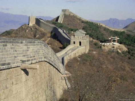 The great wall beijing china asia reproduction - Maison familiale design a beijing en china par arch studio ...