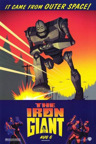 Géant de fer, Le|The Iron Giant Affiche originale