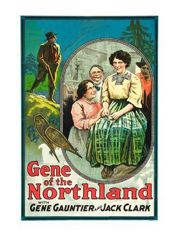 Gene of the Northland Reproduction d'art