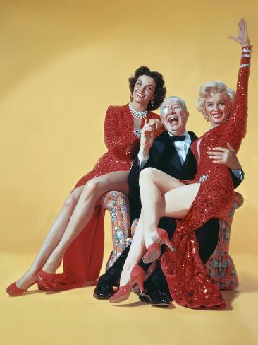 Gentlemen Prefer Blondes, Directed by Howard Hawks, 1953 Photographie