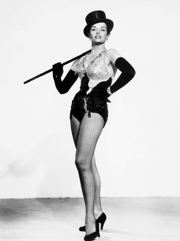 Gentlemen Prefer Blondes, Jane Russell, in a Costume by William Travilla, 1953 Photographie