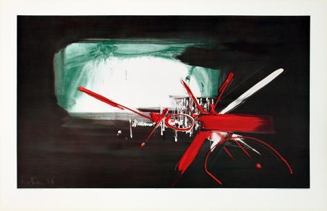 Composition (1958) Reproduction d'art