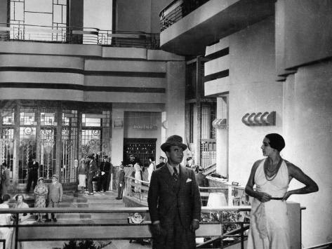 Georges Milton et Germaine Charley : La Bande à Bouboule, 1931 Reproduction photographique
