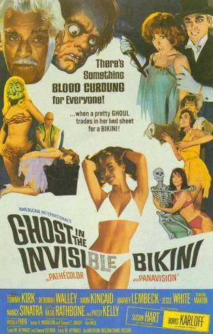Ghost In the Invisible Bikini Affiche originale