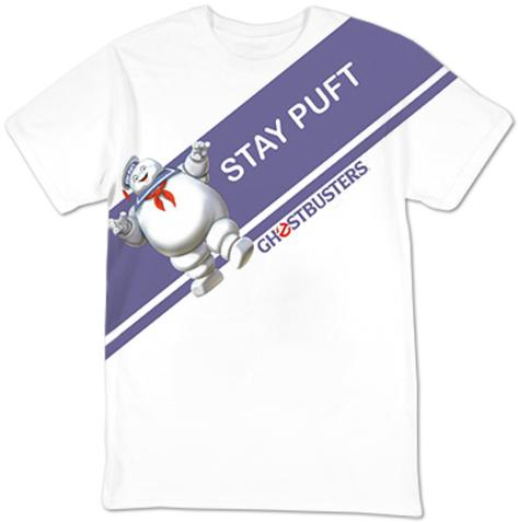 Ghostbusters- Stay Puft Sash T-shirt