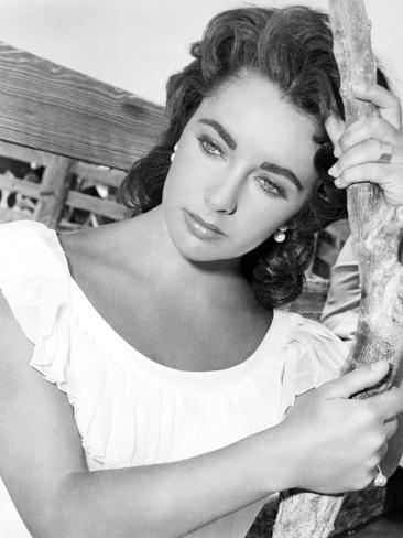 Giant, Elizabeth Taylor, 1956 Photographie