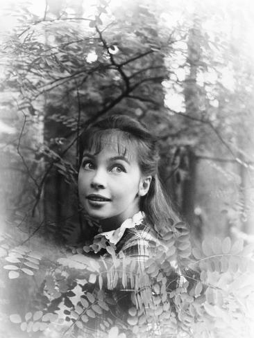 Gigi, Leslie Caron, 1958 Photographie