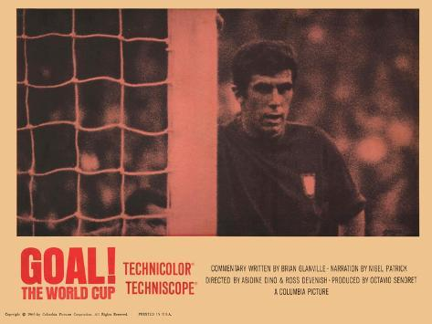 Goal! The World Cup, 1967 Reproduction d'art