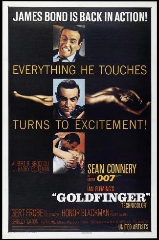 Goldfinger Reproduction d'art