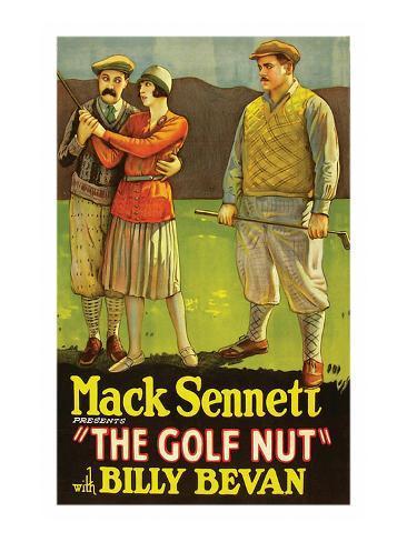 Golf Nut Reproduction d'art