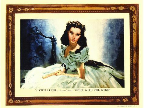 Gone With The Wind, 1939 Reproduction d'art