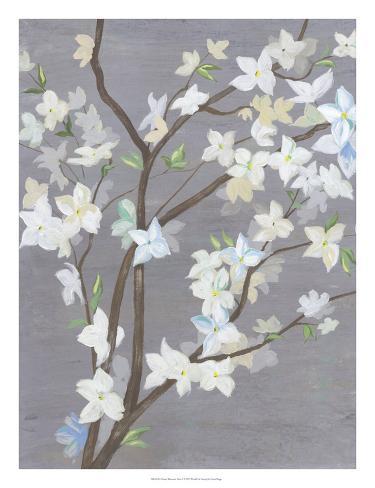 Cherry Blossom Haze I Reproduction d'art