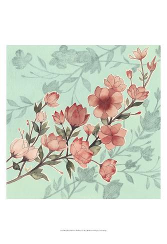 Cherry Blossom Shadows I Reproduction d'art