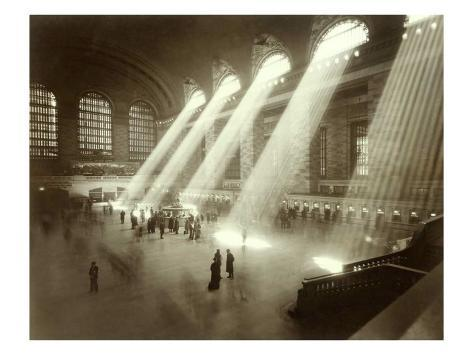 Grand Central Station, New York City, c.1940's Reproduction procédé giclée