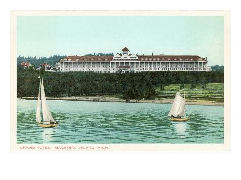Grand Hotel, Mackinac Island, Michigan Reproduction d'art