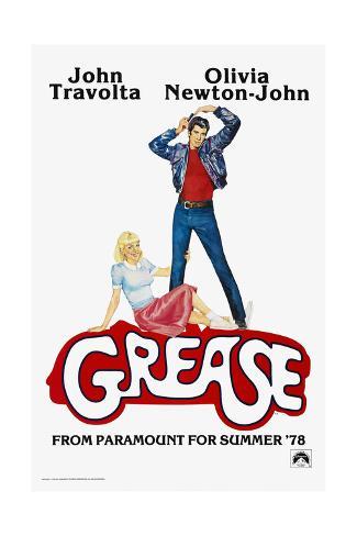 Grease, 1978 Reproduction procédé giclée