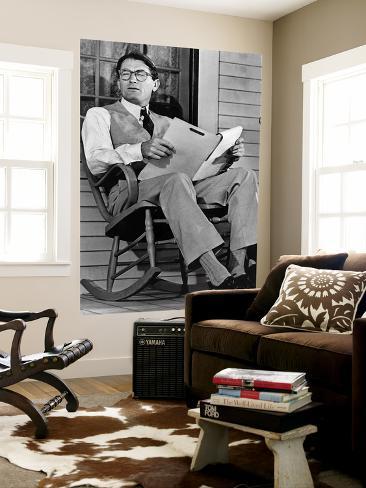 Gregory Peck Art mural format géant - Reproduction