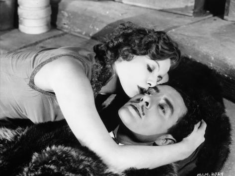 Greta Garbo et John Gilbert : Flesh and The Devil, 1926 Reproduction photographique