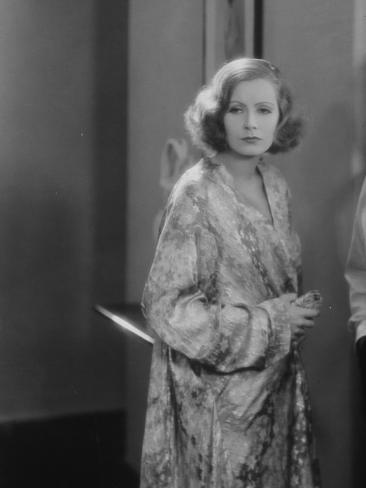 Greta Garbo : Le Baiser, 1929 Reproduction photographique