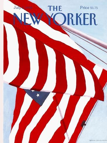 The New Yorker Cover - July 2, 1990 Reproduction giclée Premium