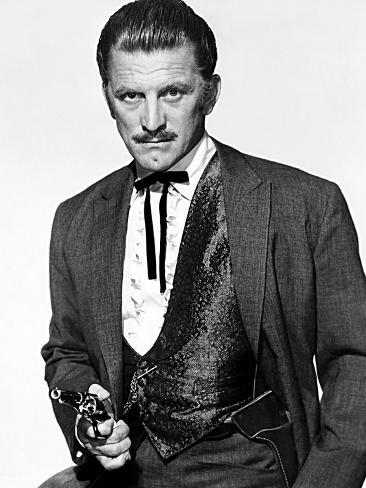 Gunfight at the O.K. Corral, Kirk Douglas, 1957 Photographie