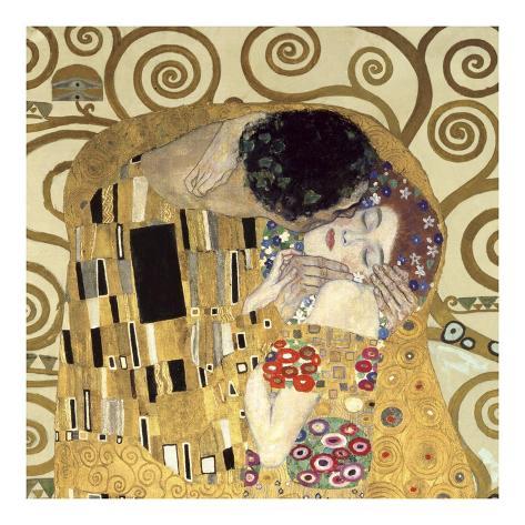 Le baiser (détail) Reproduction d'art