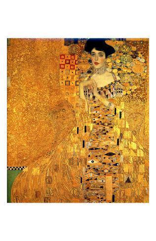 Portrait of Adele Bloch-Bauer I Reproduction procédé giclée