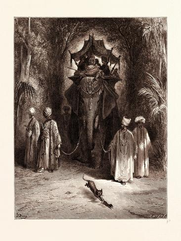 The Rat and the Elephant Reproduction procédé giclée
