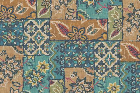 Gypsy Patchwork Reproduction d'art
