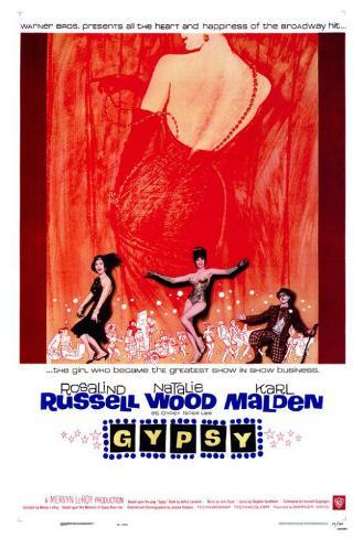 Gypsy, Vénus de Broadway|Gypsy Poster