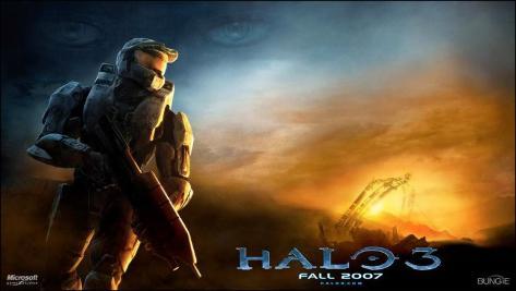 Halo3 Affiche originale