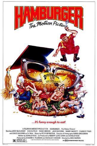 Hamburger...The Motion Picture Affiche originale