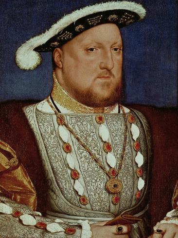 Roi HenryVIII Reproduction procédé giclée