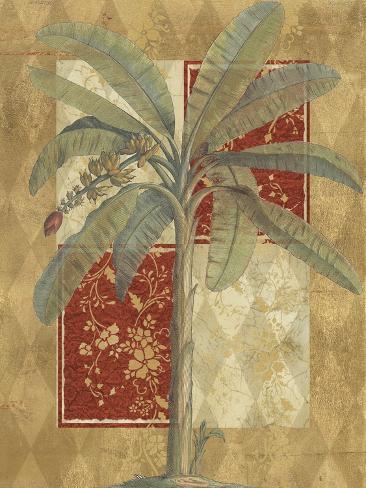 Harlequin Banana Palm Reproduction d'art