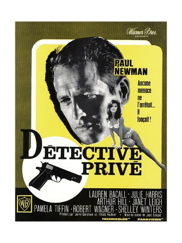 Harper, (aka Detective Prive), Paul Newman, Pamela Tiffin, 1966 Reproduction procédé giclée