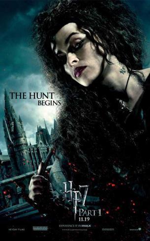 Harry Potter and The Deathly Hallows Part 1 - Bellatrix Lestrange Affiche originale