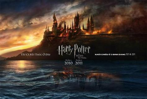 Harry Potter and the Deathly Hallows: Part I - Vietnamese Style Poster