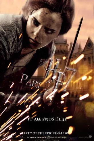Harry Potter and the Deathly Hallows: Part II - Hermione Affiche originale