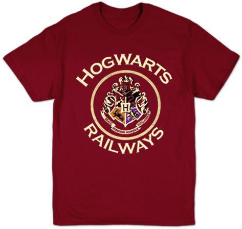 Harry Potter- Hogwarts Railways Badge T-shirt