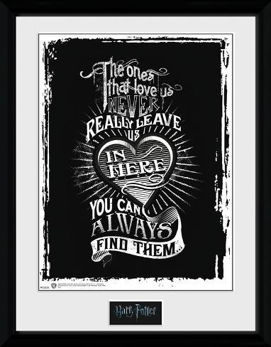 Harry Potter - Love Reproduction encadrée pour collectionneurs