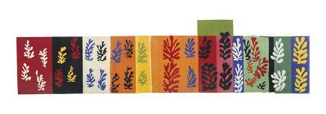 Composition (Les Velours), 1947 Reproduction d'art